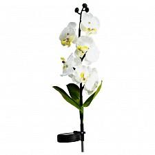Цветок Feron 06259 Орхидея белая с желтым PL301