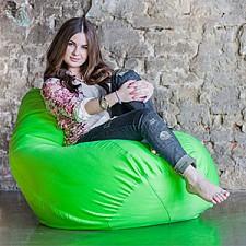 Кресло-мешок Фьюжн салатовое II