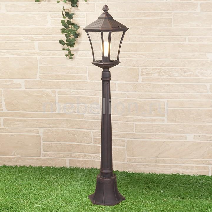 Наземный высокий светильник Elektrostandard Virgo F капучино (арт. GLXT-1450F) садовый светильник elektrostandard taurus f малахит арт glxt 1458f