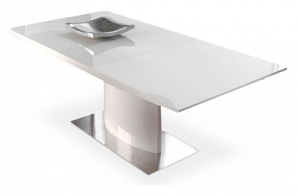 Стол обеденный Dupen DT-01 белый стол обеденный dupen dt 02 орех