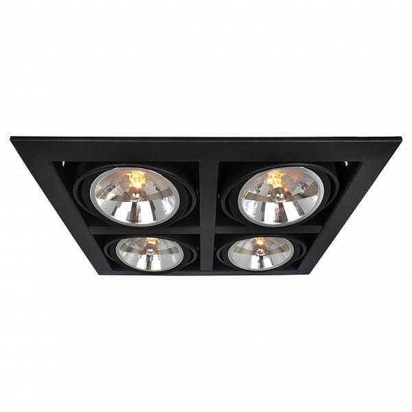 Встраиваемый светильник Cardani A5935PL-4BK