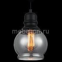 Подвесной светильник Индиго 50026/1 дымчатый