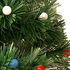 Ель световая Сибим SB_SSHR15 Ель светящаяся с шарами