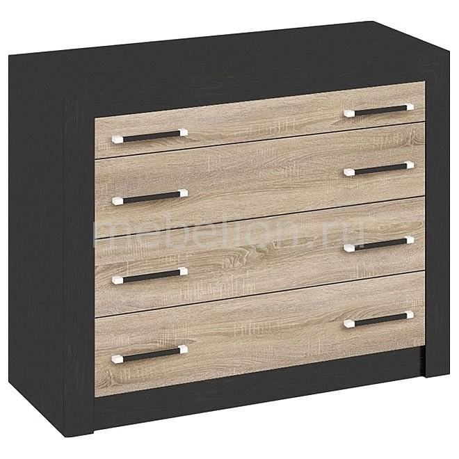 цена на Комод Мебель Трия Токио СМ-131.04.001 венге цаво/дуб сонома