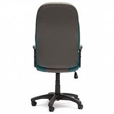 Кресло компьютерное Twister серый_бирюзовый