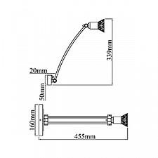 Светильник на штанге Maytoni PIC121-01-G Matiss