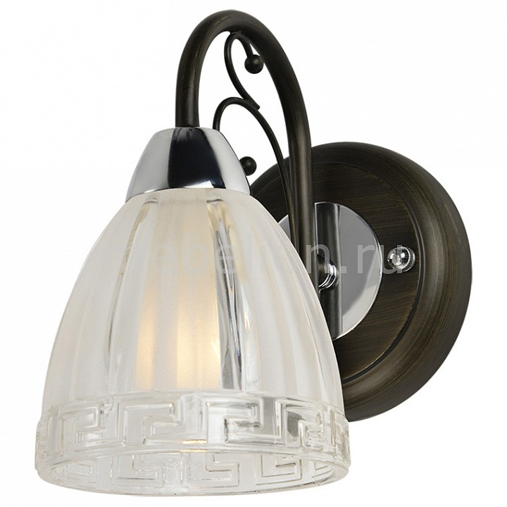 Бра IDLamp 232/1A-Blackchrome 232