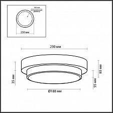 Накладной светильник Odeon Light 2746/1C Holger