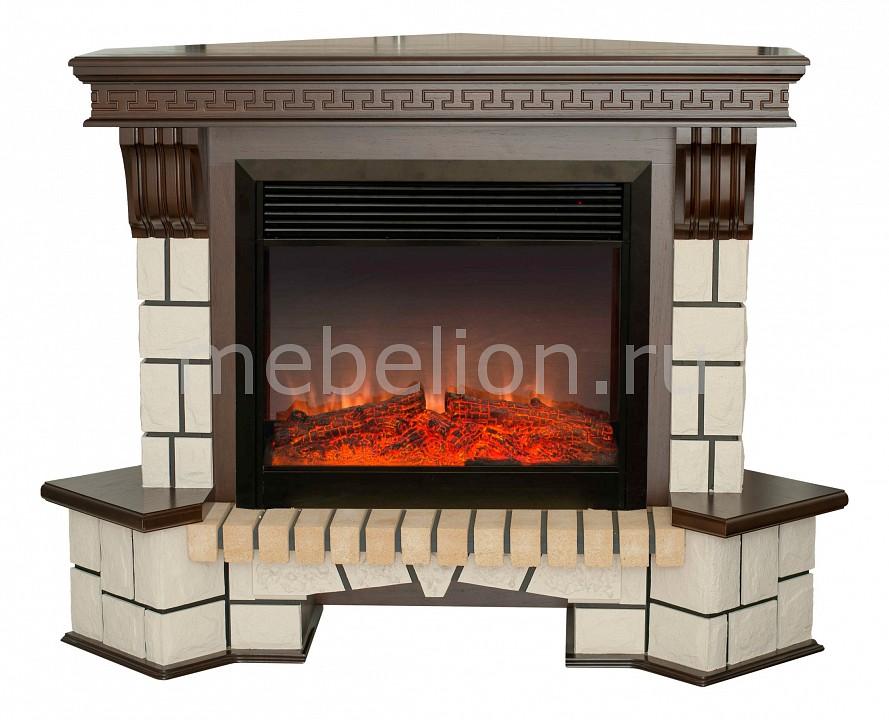 Электрокамин напольный Real Flame (134х43х107 см) Stone New Corner 00010011154 realflame электрокамин напольный real flame tokio белый дуб