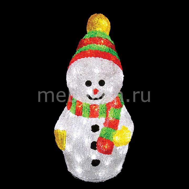 Снеговик световой Neon-Night (30 см) с шарфом 513-275 фигура акриловая светодиодная neon night снеговик с шарфом 40 led с понижающим трансформатором 30 см