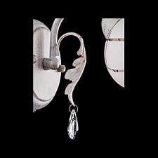 Бра Eurosvet 70001/1 белый с золотом/прозрачный хрусталь 70001