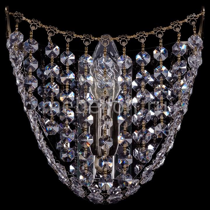 Накладной светильник Bohemia Ivele Crystal 7708/1/W/Pa 7708