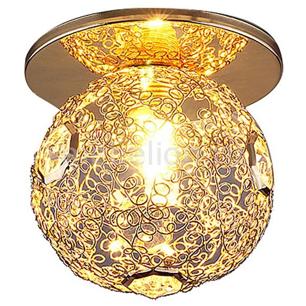 Встраиваемый светильник Elektrostandard 1002 G9 GD a030861