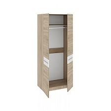 Шкаф платяной Ларго СМ-181.07.003 дуб сонома/белый глянец