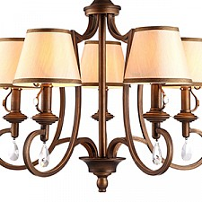 Подвесная люстра Arte Lamp A6016LM-5BG Castello