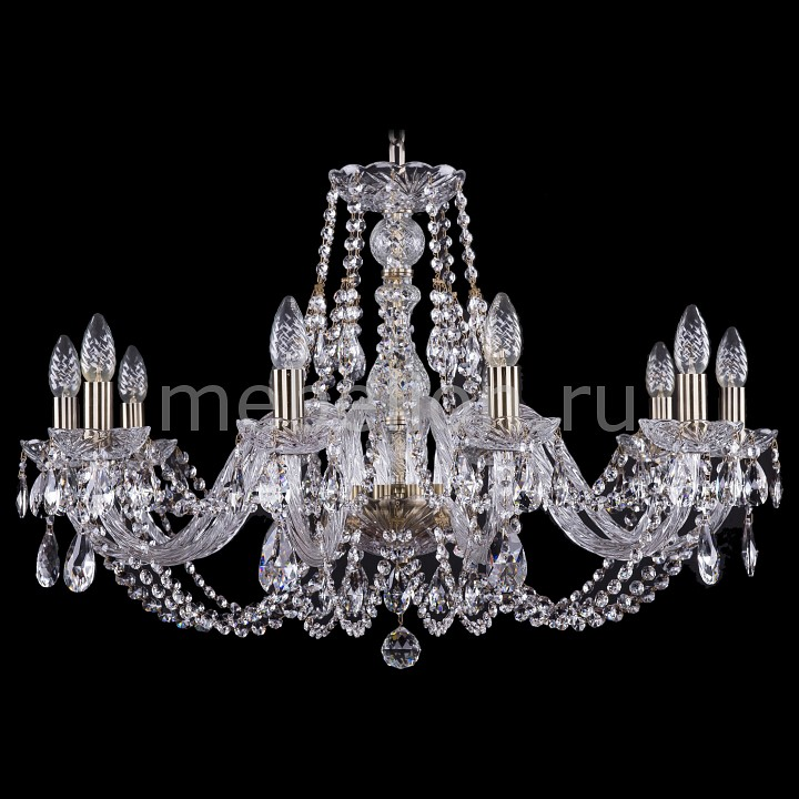 Подвесная люстра Bohemia Ivele Crystal 1406/10/300/Pa 1406