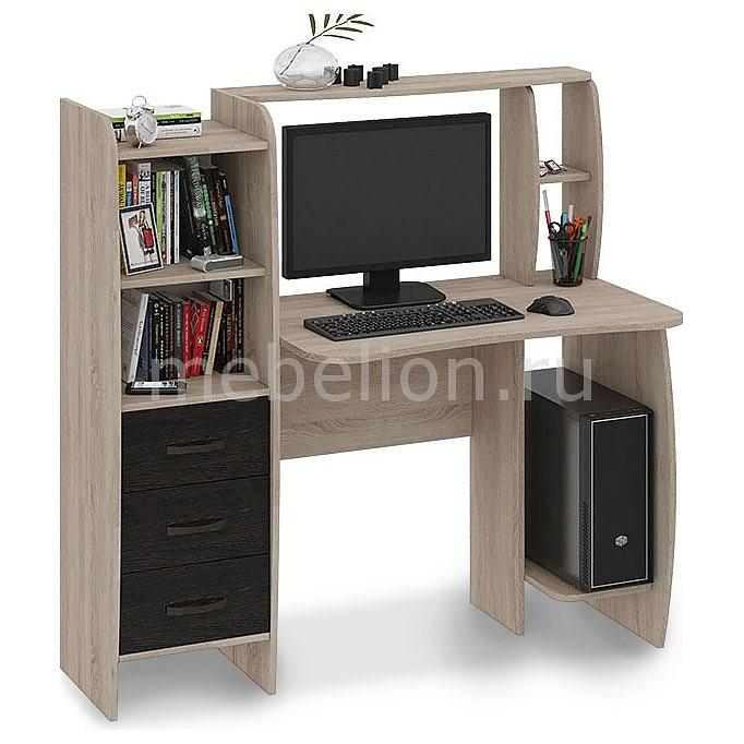 Стол компьютерный Мебель Трия Школьник-Класс (М) дуб сонома/венге цаво