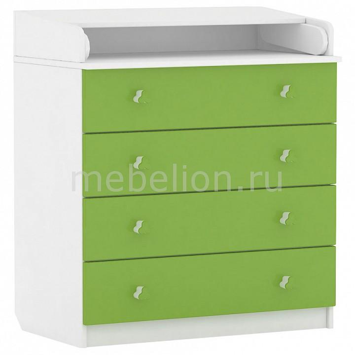 Комод пеленальный Polini Simple 1580  пуфик ящик для игрушек