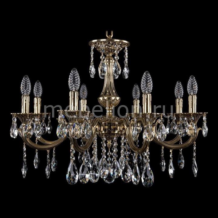 Подвесная люстра Bohemia Ivele Crystal 1702/8/A/GB 1702
