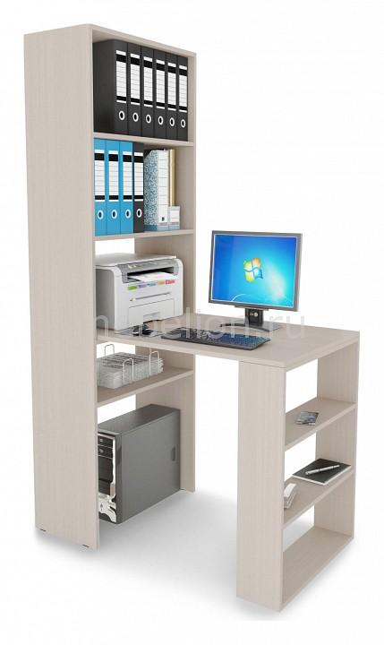 Стол компьютерный МФ Мастер Рикс-45 мф мастер стол компьютерный рикс 46 дуб сонома хром