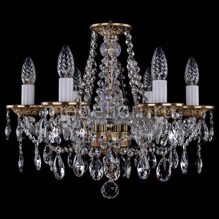 Подвесная люстра Bohemia Ivele Crystal 1613/6/165/FP 1613