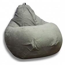 Кресло-мешок Серая замша II