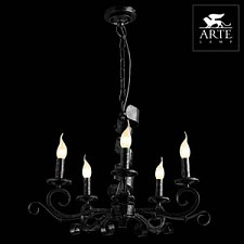 Подвесная люстра Arte Lamp A8952LM-5BG Arena