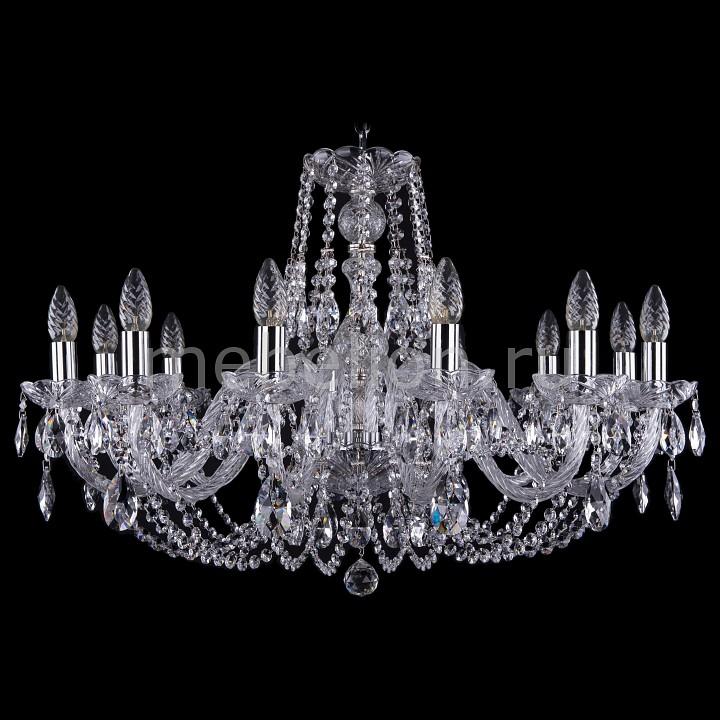 Подвесная люстра Bohemia Ivele Crystal 1406/12/300/Ni 1406