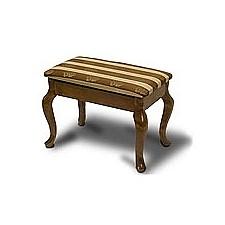 Банкетка Ретро (с ящиком) средне-коричневый