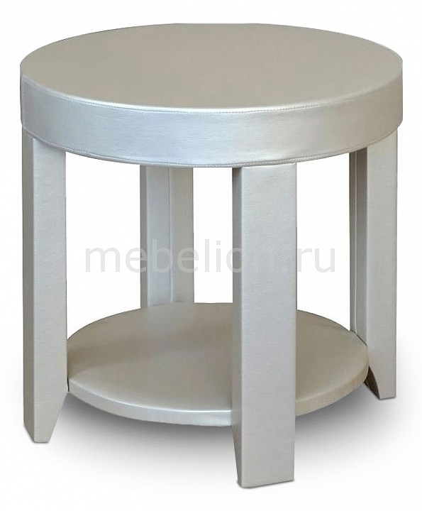 Стол журнальный Мебелик Сакура 1 слоновая кость