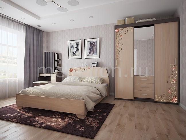 Гарнитур для спальни Виктория-2  кровать чердак с диваном внизу для подростка