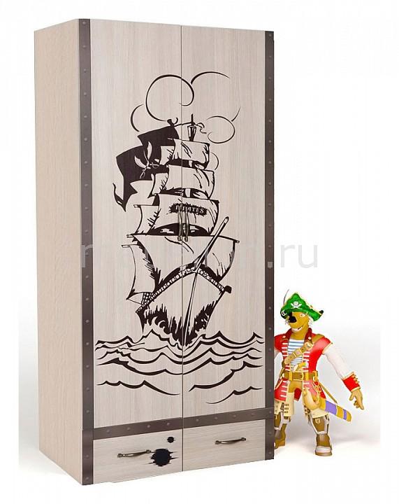 Шкаф платяной Advesta Pirat advesta стеллаж узкий advesta океан правый или левый