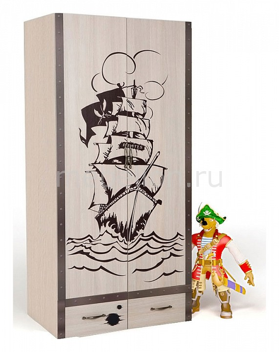 Шкаф платяной Advesta Pirat