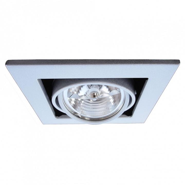Встраиваемый светильник Arte Lamp Technika 2 A5930PL-1SI цена