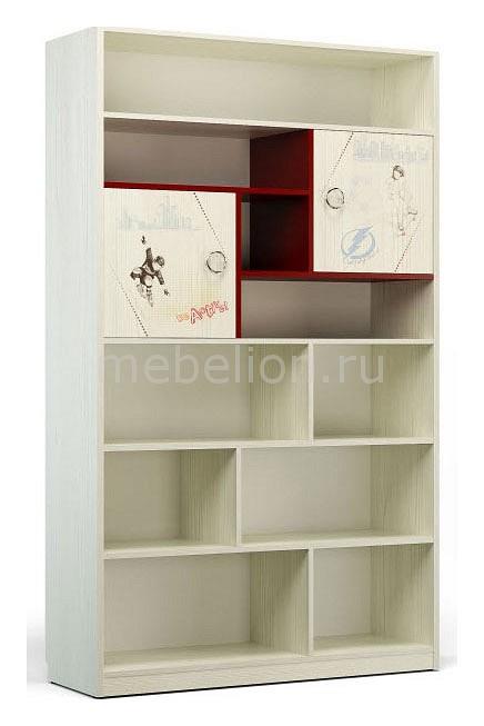 Стеллаж комбинированный Сканд-Мебель Актив-1