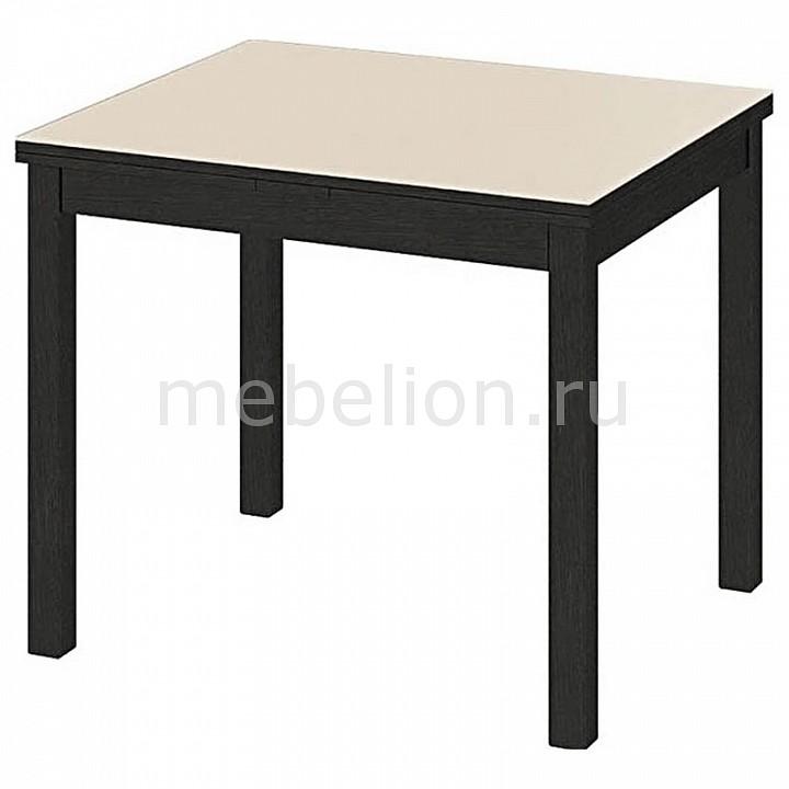 Стол обеденный Мебель Трия Диез Т5 С-346 венге/белый стол обеденный мебель трия диез т5 с 302 1 венге дуб сильвер
