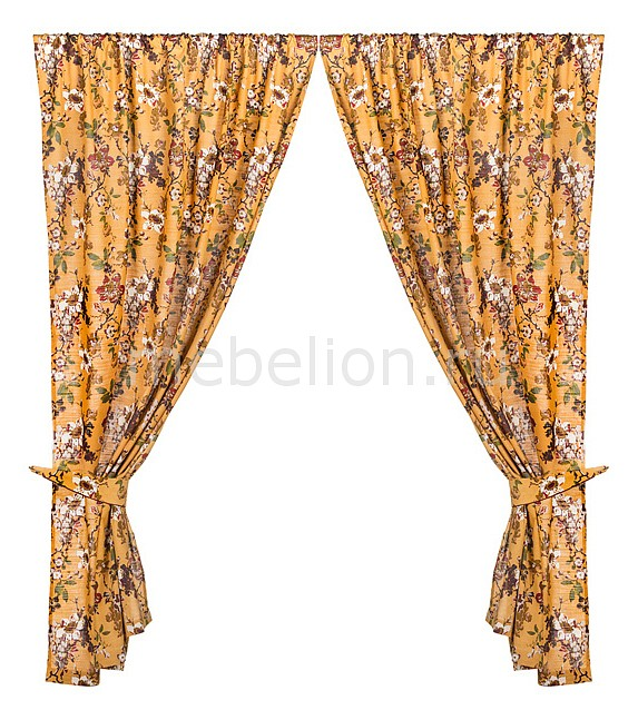 Портьера АРТИ-М (150х250 см) 2 шт. 850-835 портьера арти м 145х180 см 2 шт розовый сад 850 833 11