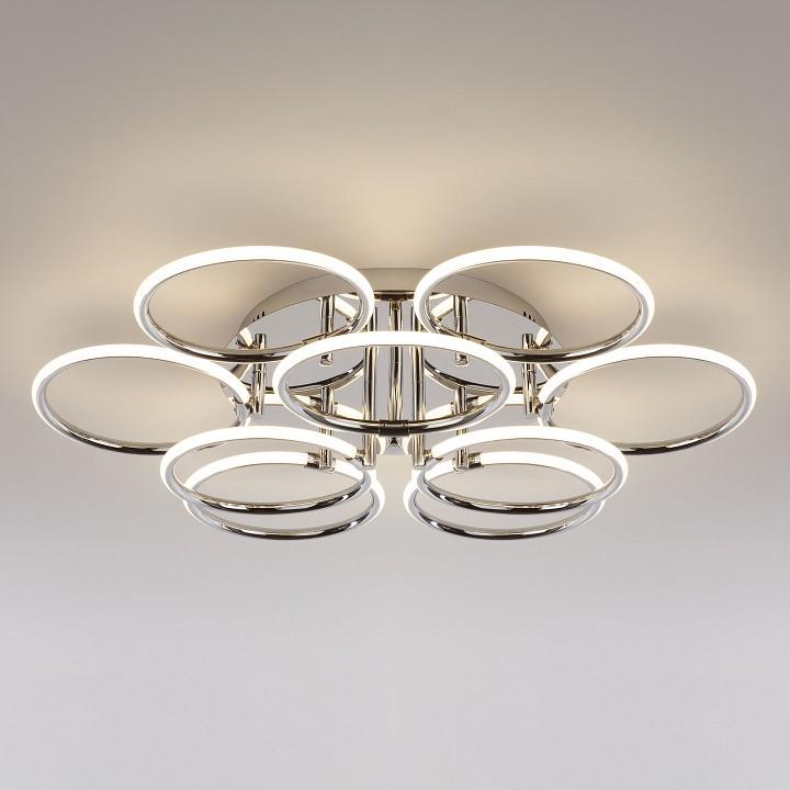 Купить Потолочная люстра Impulse 90069/9 хром 94W, Мегаполис, Китай