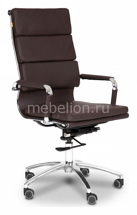 Кресло компьютерное Chairman Chairman 750 коричневый/хром chairman chairman 750 черный хром