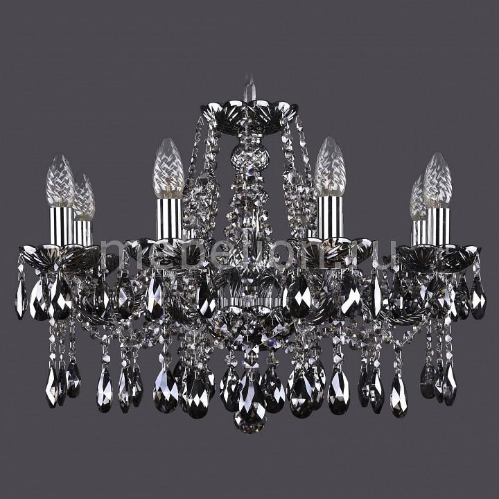 Подвесная люстра Bohemia Ivele Crystal 1413/8/200/Ni/M731 1413