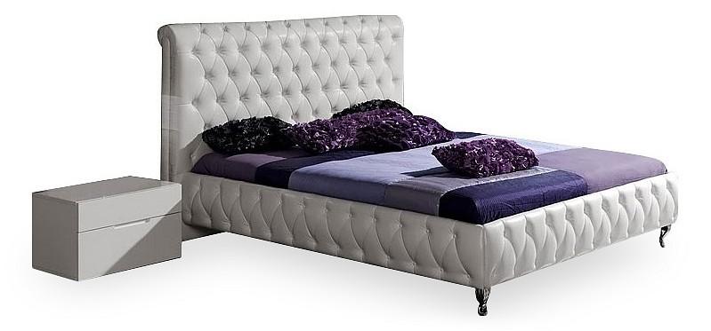 Кровать двуспальная Dupen Adriana 1.6 белый dupen cinderella 1 8 белый