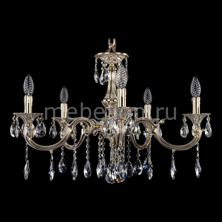 Подвесная люстра Bohemia Ivele Crystal 1702/5/A/GW 1702