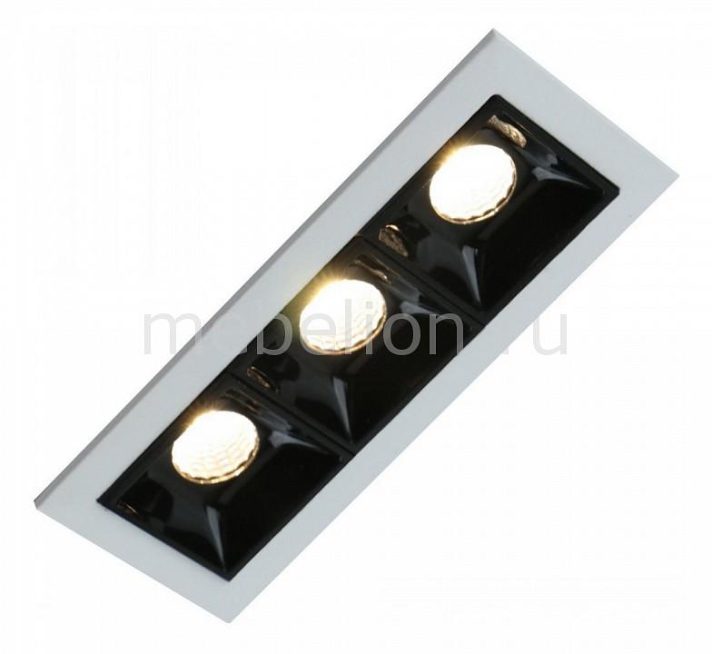Купить Встраиваемый светильник Grill A3153PL-3BK, Arte Lamp, Италия