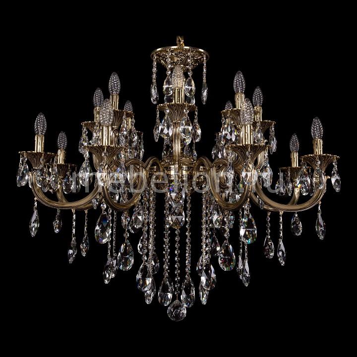 Подвесная люстра Bohemia Ivele Crystal 1702/8+8/335+150/B/GB 1702