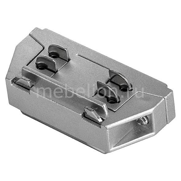 Купить Соединитель Barra 504109, Lightstar, Италия, серый, металл, полимер