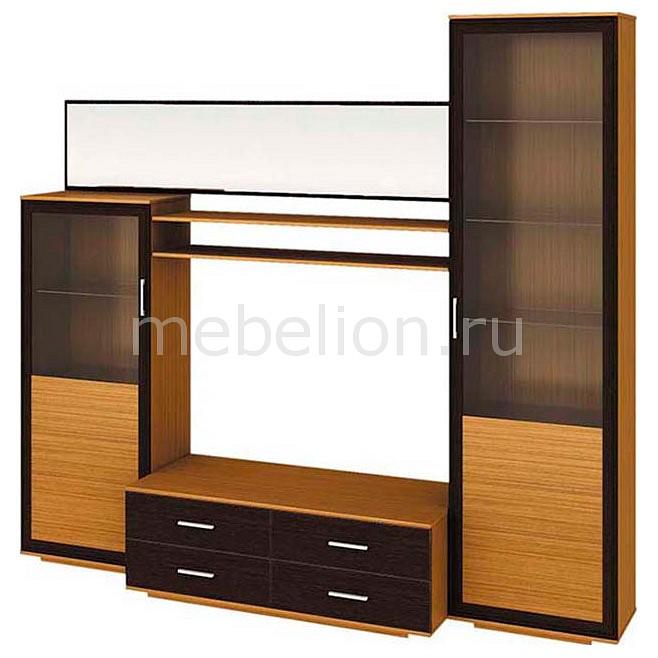 Мебель Трия Стенка-горка Нео ПМ-106.00 тик самоа cтенка для гостиной трия нео пм 106 00 дуб сонома