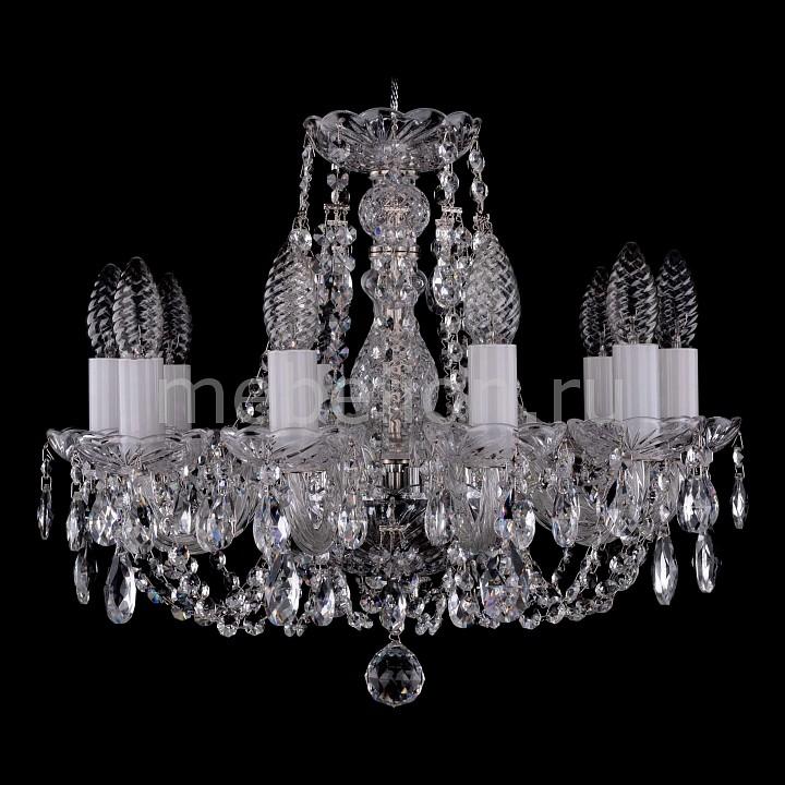 Подвесная люстра Bohemia Ivele Crystal 1406/10/141/Ni 1406