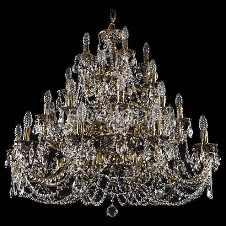 Подвесная люстра Bohemia Ivele Crystal 1742/10+10+5+5/335/C/GB 1742