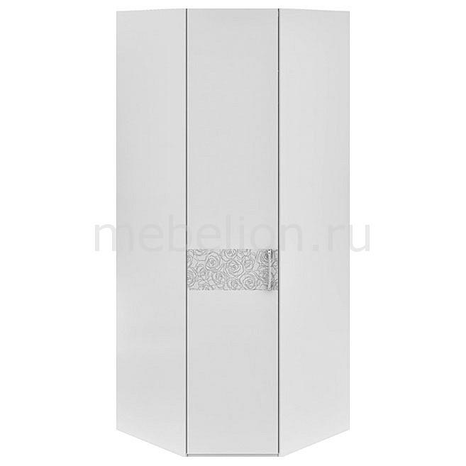 Шкаф платяной угловой Амели СМ-193.07.006 L белый глянец mebelion.ru 14490.000