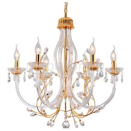 Подвесная люстра Arte Lamp A8230LM-6GO Aligote